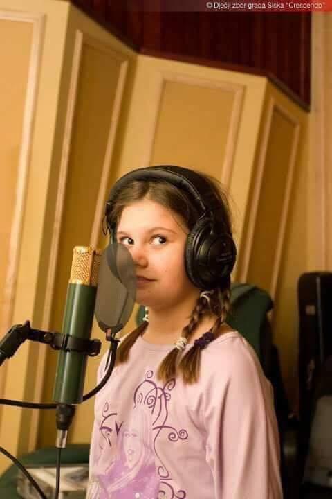 Prvo snimanje u studiju (Crescendo)